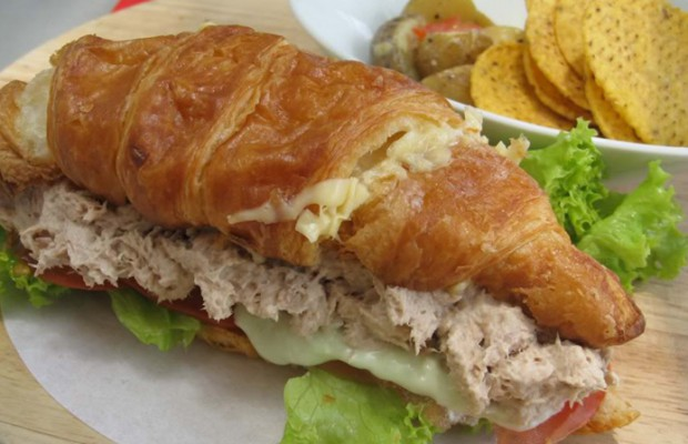 Chicken or Tuna Croissant